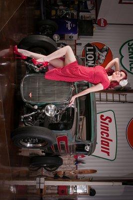 Angela Ryan Red Dress