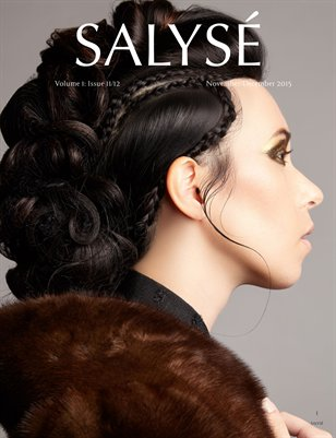 SALYSÉ Magazine | Vol 1:No 11/12 | Nov/Dec 2015 | Amy Cover