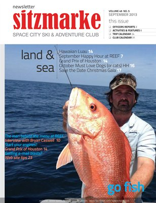Sitzmarke Newsletter September 2013