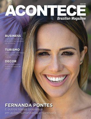 Acontece Magazine - Maio de 2021