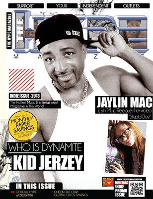 The Hype Magazine - Indie Issue 2013 - Dynamite Kid Jerzey