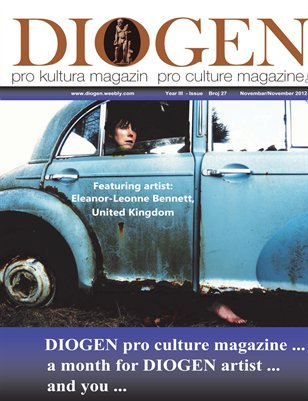 DIOGEN pro art magazin No.27...Eleanor_Leonne Bennet...1.11.2012.