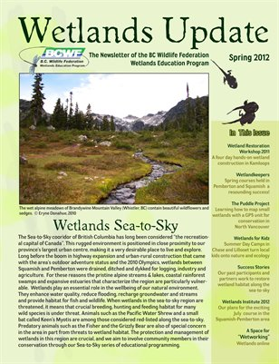 BCWF Wetlands Update 2012