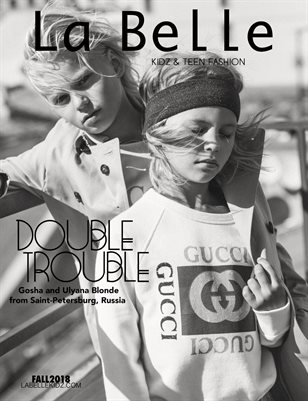 La Belle Kidz & Teen Fashion / Fall 2018 (Russia Cover)