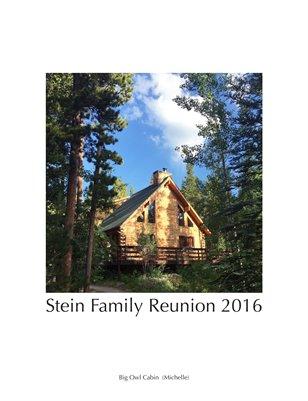 Stein Family Reunion 2016