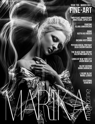 MARIKA MAGAZINE FINE-ART ( MARCH - ISSUE 705)