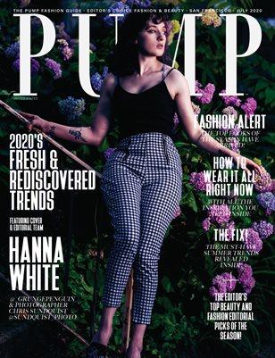 PUMP Magazine | Editor's Choice Elevated Fashion & Beauty | July 2020 | Vol.7
