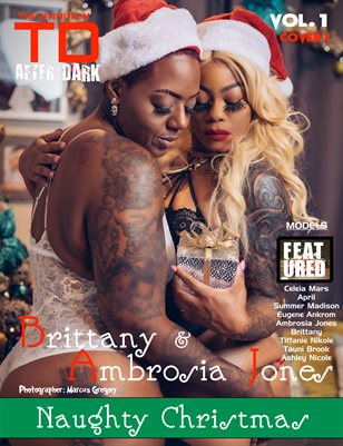 TDM After Dark Ambrosia Jones & Brittany Xmas vol1 cover 1