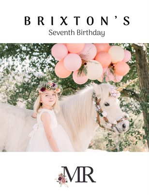 Moonflower Ranch - Brixtons's - 7th Birthday 2019