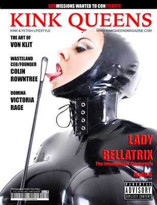 KINK QUEENS MAGAZINE | NUMBER 4 | SPRING 2017 | B