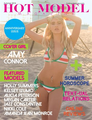 Hot Model Magazine Summer Issue 2015
