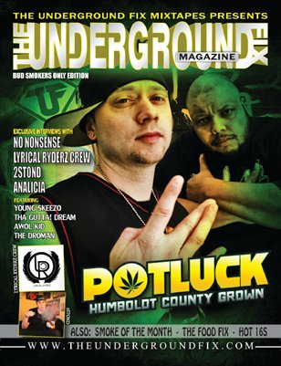 The Underground Fix Magazine 'Bud Smokers Only' Edition