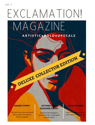 Exclamation! Magazine Winter 19 DELUXE COLLECTOR EDITION
