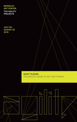 Quiet Please: The Mental Game of Art and Tennis