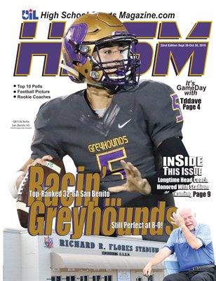 2016 HSSM October Issue-Go Hounds!
