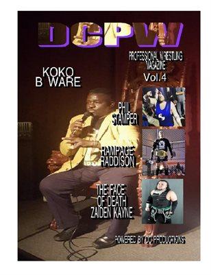 DCPW Professional Wrestling Magazine Vol.4