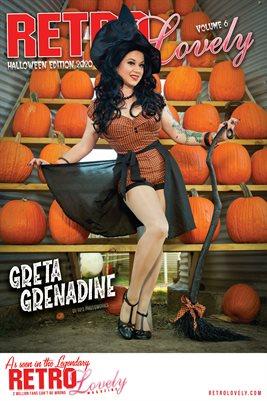Greta Grenadine Cover Halloween 2020 Cover Poster