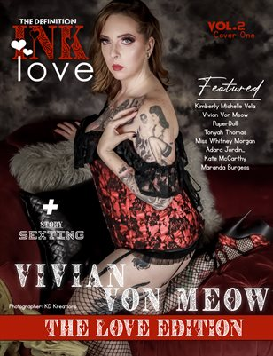 TDM INK: Vivian Von Meow Valentine Issue 2 Cover 1 2021