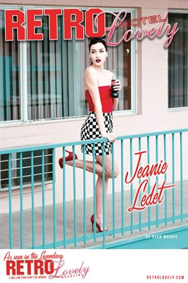 MOTEL 2021 Special Edition Vol. 1 – Jeanie Ledet Cover Poster