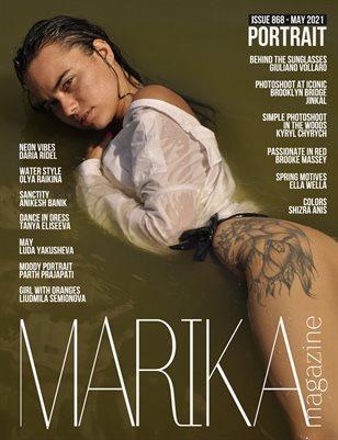 MARIKA MAGAZINE PORTRAIT (ISSUE 868 - MAY)
