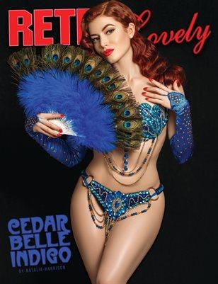 Retro Lovely No.89 – Cedar Belle Indigo Cover