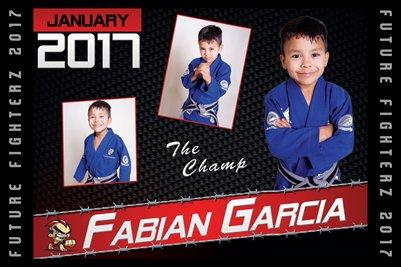 Fabian Garcia Cal Poster 2017