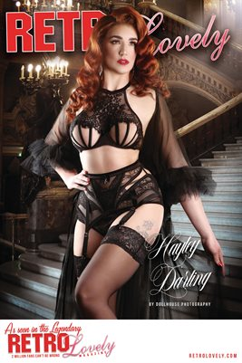 Retro Lovely No.161 – Hayley Darling Cover Poster