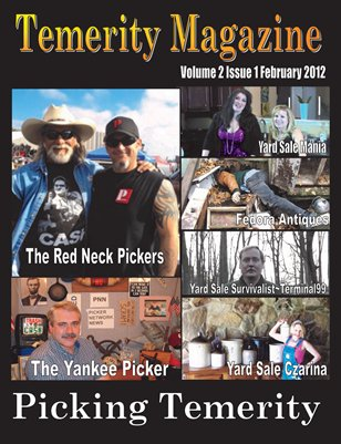 Temerity Magazine Volume 2 Issue 1 February 2012