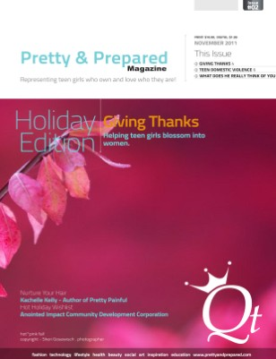 Pretty and Prepared Magazine November 2011