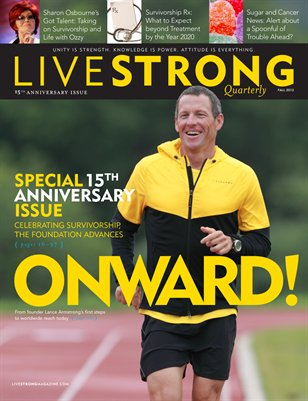 LIVESTRONG 15th Anniversary Special Edition