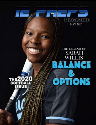 IE Preps Magazine 2020 Softball Issue Sarah Willis Cover #2