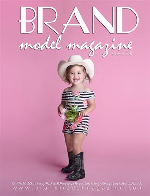 Brand Model Magazine  Issue # 218