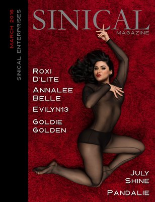 Sinical March 2016 - Roxi D'Lite cover