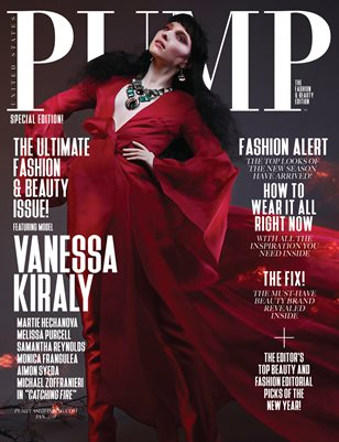 PUMP Magazine - Fashion Legends - Vol. 5 Catching Fire