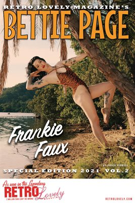 Bettie Page 2021 VOL.2 – Frankie Faux Cover Poster