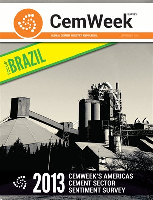 2013 CemWeek Americas Cement Sector Sentiment Survey