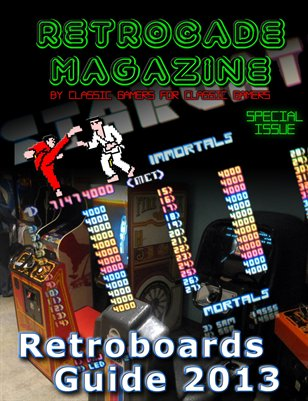 Retrocade Magazine's Retroboards Guide 2013