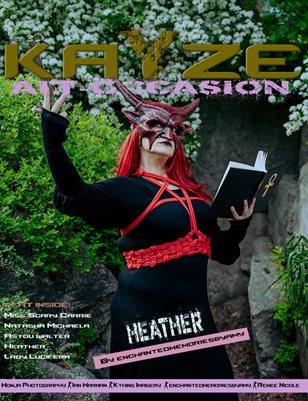 Kayze Magazine Issue 39 -HEATHER- Alt-occasion