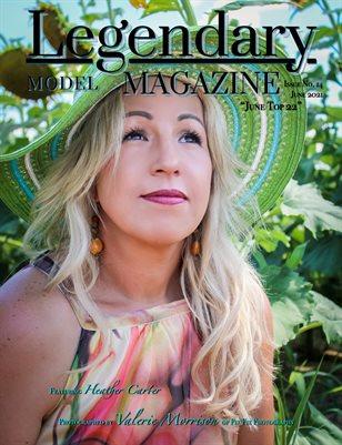 Issue No. 14 - June Top 22 - Legendary Model Magazine
