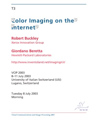 Notes for Color Imaging on the Internet