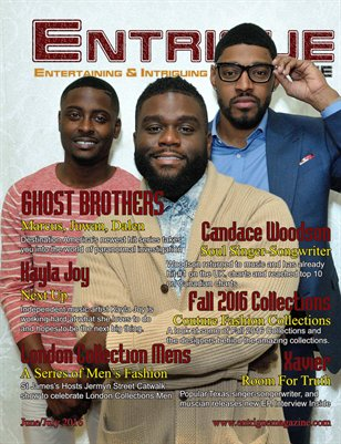 Entrigue Magazine June/July 2016