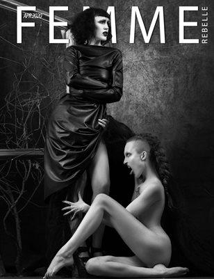 Femme Rebelle Magazine APRIL 2020 - BOOK 2 - Rob Chamber Cover