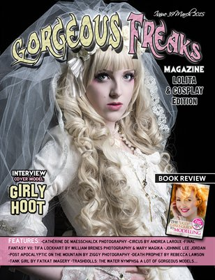 Issue 39 Lolita & Cosplay Edition Cover Model: GirlyHoot