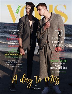 VOUS Magazine | The Man Edition | Vol.3 | September 2021