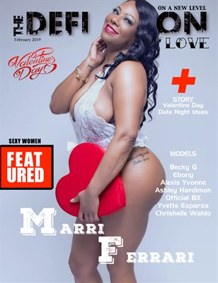 The Definition of Love Issue 2 (Marri Ferrari Cover)
