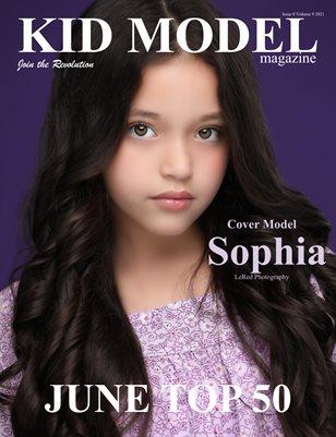 Kid Model Magazine Issue 8 Volume 9 2021 JUNE TOP 50