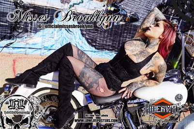 Low Life Photography Poster Misses Brooklynn #3