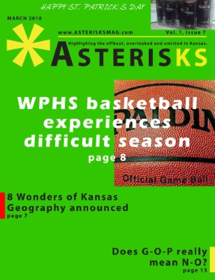 Asterisks: March 2010