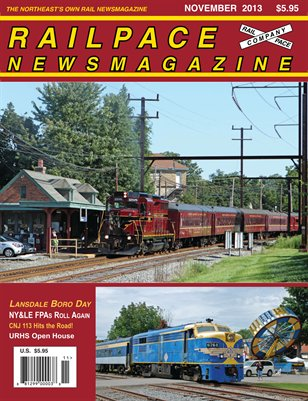 NOVEMBER 2013 Railpace Newsmagazine