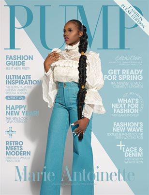 PUMP Magazine | The Fashion Pulse Issue | Editor's Choice | Vol.1